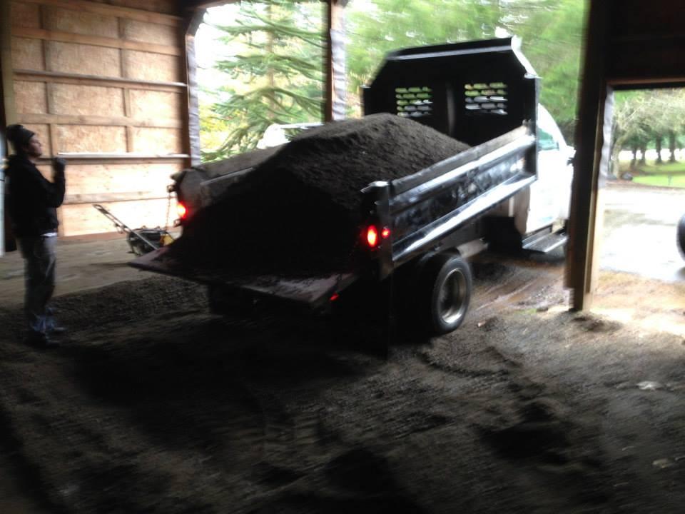 Trucking Gravel